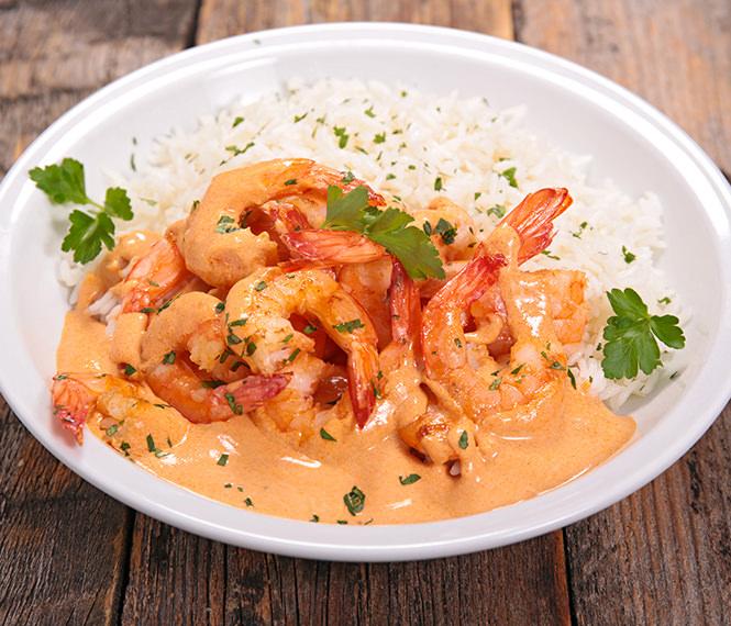 Thai Inspired Curry Coconut Shrimp