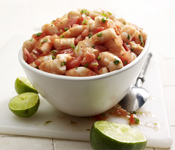 Shrimp and Tuna Ceviche