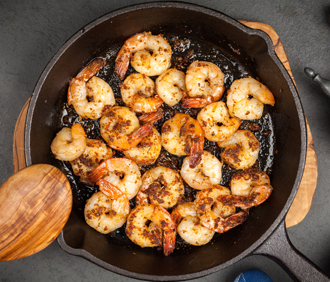 Spicy Sriracha Shrimp