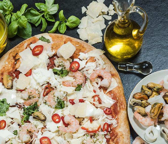 Pizza Lover's Shrimp Pizza